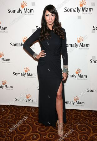 Actress Jackie Cruz attends the Somaly Mam Foundation Gala on in New York
