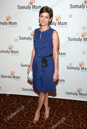 Editor in Chief of Glamour magazine Cindi Leive attends the Somaly Mam Foundation Gala on in New York