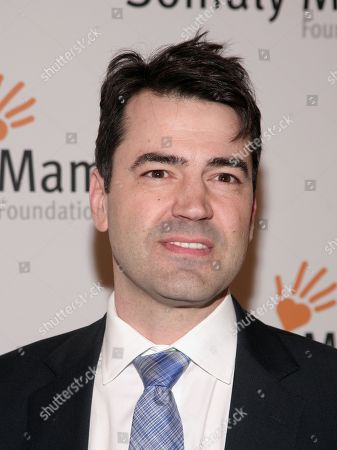 Stock Image of Actor Ron Livingston attends the Somaly Mam Foundation Gala on in New York