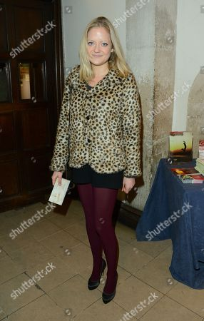 Lady Eloise Anson seen at the The Fayre of St James Charity Concert presented by the Quintessentially Foundation at St James's Church, in London