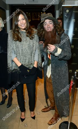 Amanda Ferry, left, seen at the The Fayre of St James Charity Concert presented by the Quintessentially Foundation at St James's Church, in London