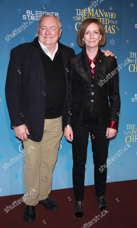 Editorial picture of 'The Man Who Invented Christmas' film premiere, New York, USA - 12 Nov 2017