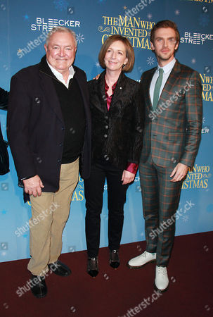 Editorial photo of 'The Man Who Invented Christmas' film premiere, New York, USA - 12 Nov 2017