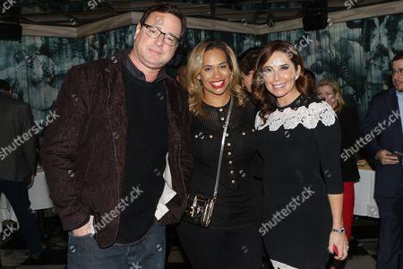 Stock Image of Bob Saget, Amber Sabathia and Laura Posada
