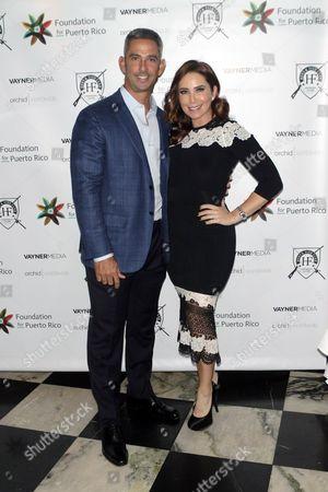 Jorge Posada and Laura Posada