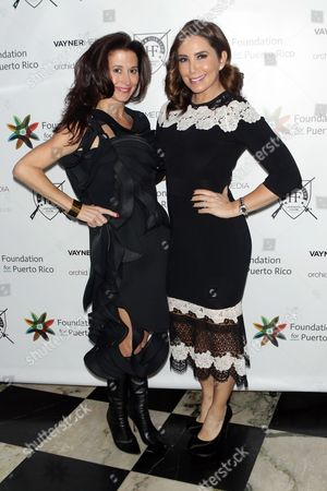 Stacey Dreyfus and Laura Posada