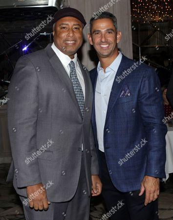 Bernie Williams and Jorge Posada