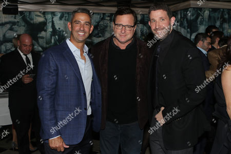 Jorge Posada, Bob Saget and Guest