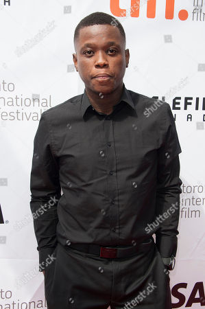 """Actor Mpho Koaho seen at the """"Black And White"""" premiere at Roy Thomson Hall, in Toronto, Ontario"""