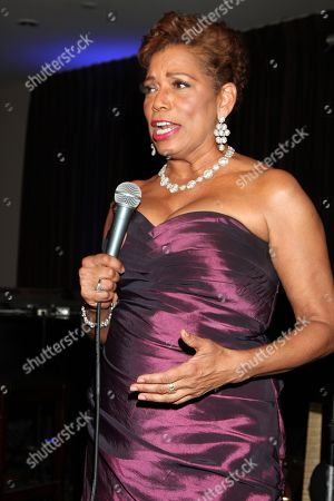 Stock Picture of Rolanda Watts speaks at 2015 AMAA Nominations Dinner at H.O.M.E., in Beverly Hills, Calif