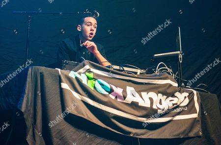 Alex Angelo performing as part of The MTV Artist To Watch Tour at The Tabernacle, in Atlanta