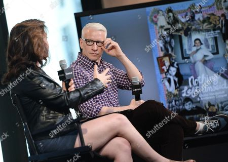 Editorial photo of AOL BUILD Speaker Series: Anderson Cooper and Liz Garbus, New York, USA - 15 Apr 2016
