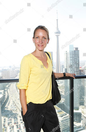 """Michelle Nolden attends the Baskâ?""""Itâ?""""Style media day, in Toronto"""