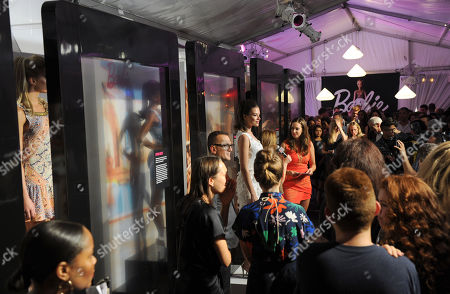 Editorial image of Fashion Week Barbie CFDA Fashion Lounge, New York, USA - 5 Sep 2014