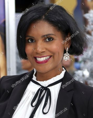 """Denise Boutte arrives at the LA Premiere of """"The Star"""" at The Regency Village Theatre, in Los Angeles"""