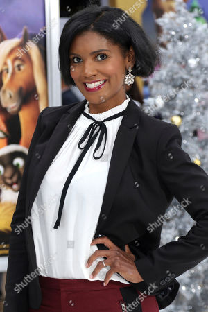 """Stock Photo of Denise Boutte arrives at the LA Premiere of """"The Star"""" at The Regency Village Theatre, in Los Angeles"""