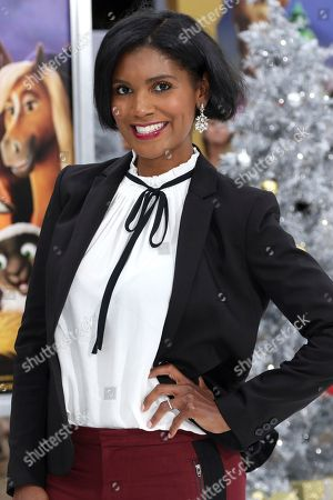 """Stock Picture of Denise Boutte arrives at the LA Premiere of """"The Star"""" at The Regency Village Theatre, in Los Angeles"""