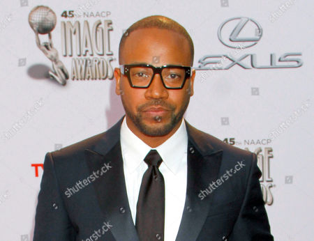 Columbus Short arrives at the 45th NAACP Image Awards at the Pasadena Civic Auditorium in Pasadena, Calif. Court records show Short test positive for cocaine and marijuana when tested by probation officials as part of his sentence in a felony assault case. Short's attorney said, that Short has previously addressed his drug issues and hopes the actor will be able to remain on probation and regain his career