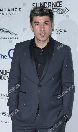 James Lance arrive for the screening of The Look of Love as part of the Sundance Film Festival in the UK, at the o2 Arena in east London