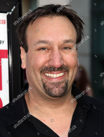 """Gabriel Jarret arrives on the red carpet at a special screening for """"I Give It A Year"""" at the on in Los Angeles"""