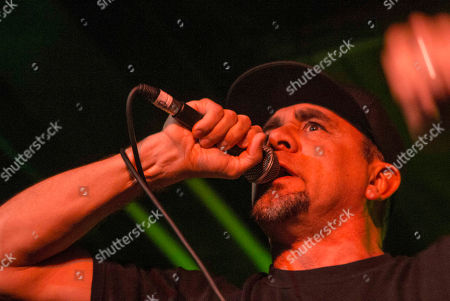 Jim Lindberg with Pennywise performs at the Masquerade, in Atlanta
