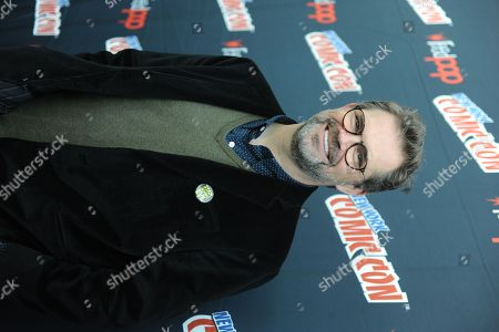 Dana Gould poses during the Stan Against Evil NY Comic Con Panel at Javits Center, in New York