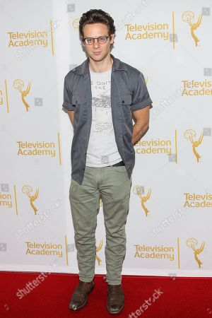 """Jacob Pitts arrives at """"An Evening with Justified,"""", at the Television Academy in the NoHo Arts District in Los Angeles"""