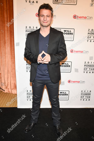 Mat Franco attends the 2016 Will Rogers Pioneer of the Year Dinner Honoring Donna Langley at Caesars Palace during CinemaCon, Las Vegas, NV