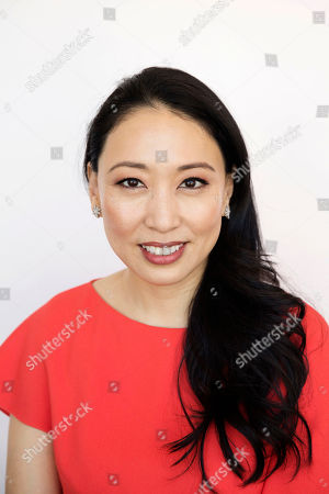 Stock Image of Judy Joo poses for a portrait in New York