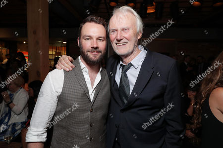 "Rupert Evans and Executive Producer Andre Lamal seen at Lionsgate's ""American Pastoral"" Premiere After Party at the 2016 International Film Festival, in Toronto"