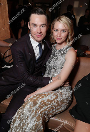 """Sam Underwood and Valorie Curry seen at Lionsgate's """"American Pastoral"""" Premiere After Party at the 2016 International Film Festival, in Toronto"""
