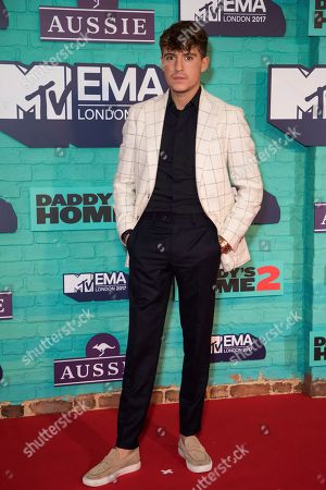 Editorial image of Britain MTV Europe 2017 Red Carpet, London, United Kingdom - 13 Nov 2017