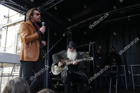 Stock Image of Jesse Hughes and Dave Catching