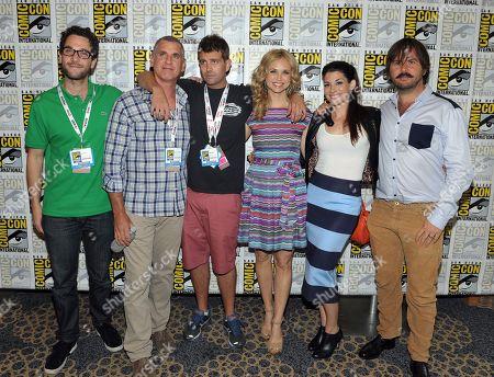 Editorial image of 2013 Comic-Con - FX Wilfred Press Room, San Diego, USA - 18 Jul 2013