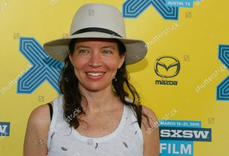 """Director Jamie Babbit walks the red carpet for """"Fresno"""" during the South by Southwest Film Festival on in Austin, Texas"""