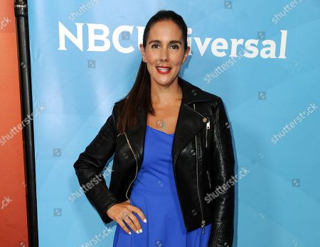 Stock Image of Jaime Primak Sullivan attends the NBC 2014 Summer TCA held in Beverly Hills, Calif. Sullivan has a deal with Touchstone for a hilarious and frank fish-out-of-water memoir about living in Birmingham, Alabama, that is scheduled for publication this fall. The book is called Saved by the Belles: The Southern Education of a Jersey Girl, Touchstone announced Monday
