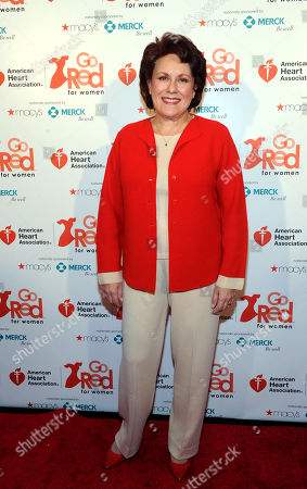Tony Award-winning actress and singer Judy Kaye joins the American Heart Associationâ?™s Go Red For Women movement to celebrate the 10th National Wear Red Day, at Macy's Herald Square in New York.Â