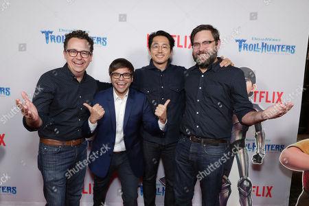 "Editorial photo of Netflix Special Screening of DreamWorks ""Trollhunters"", Los Angeles, USA - 7 Dec 2016"