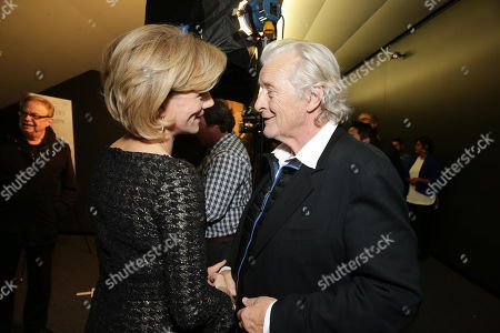 Juliet Stevenson and Rutger Hauer seen at the Los Angeles Special Screening of 'The Letters' Hosted by TakePart.org, in Los Angeles, CA