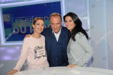 Sidonie Bonnec, Yves Lecoq and Marie Drucker