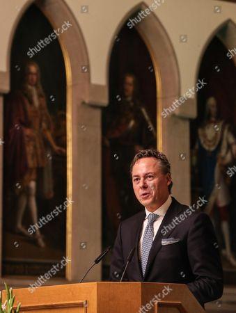 Editorial photo of European Banker of the Year 2016, Frankfurt Main, Germany - 13 Nov 2017