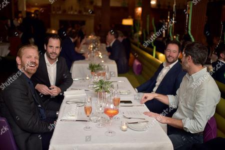 Stock Photo of Alistair Guy, Mark Saintwill, Nick Shephard and Bonniface Verney-Carron