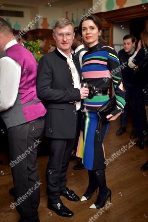 Iain Watson and Lara Bohinc