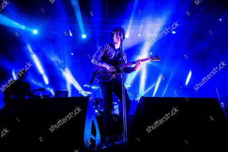 Editorial image of The Kooks in concert at Fabrique, Milan, Italy - 13 Nov 2017