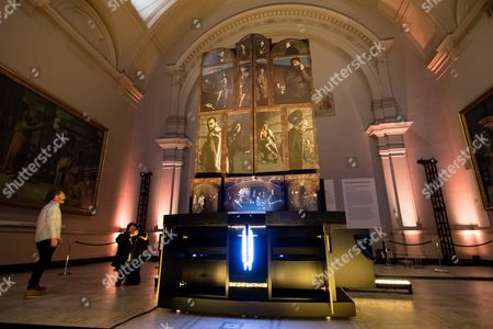 Editorial image of The Adoration Trilogy Opening at the V&A Museum in London, UK - 13 Nov 2017