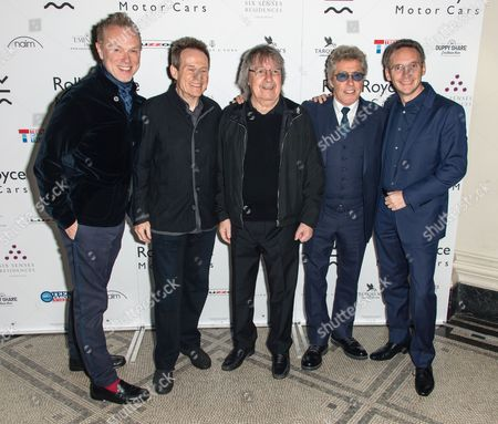 Gary Kemp, John Paul Jones, Bill Wyman, Roger Daltrey