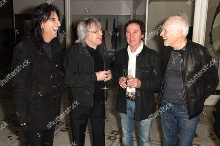 Alice Cooper, Bill Wyman, Kenney Jones, Peter Frampton