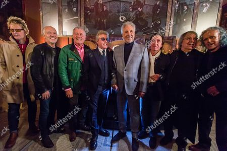 Peter Frampton, Carl Palmer, Roger Daltrey, Tom Jones, Ray Davies, Bill Wyman, Donovan