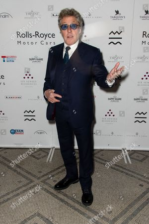 Roger Daltrey - arrivals at the opening of 'The Adoration Trilogy - Searching For Apollo', a mixed media artwork installation hosted by Roger Daltrey and Alistair Morrison of 'Legendary Musicians' photograph for Teen Cancer America & Teenage Cancer Trust