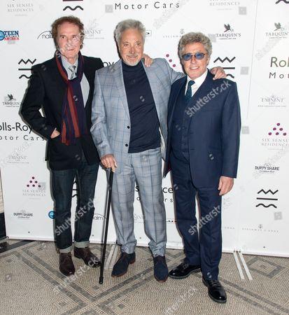 Ray Davies, Tom Jones, Roger Daltrey